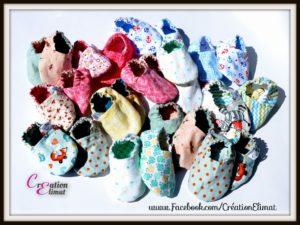 Pantoufles pour bébés